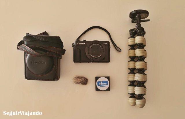 Equipo fotográfico y vídeo - Seguir Viajando