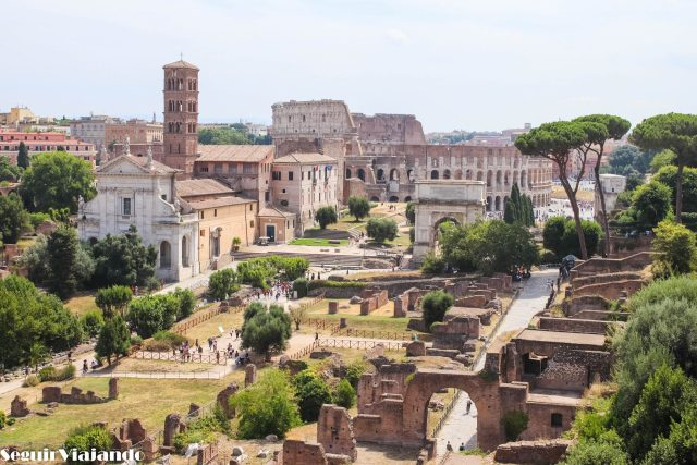 Foro Romano Roma en 2 días - Seguir Viajando