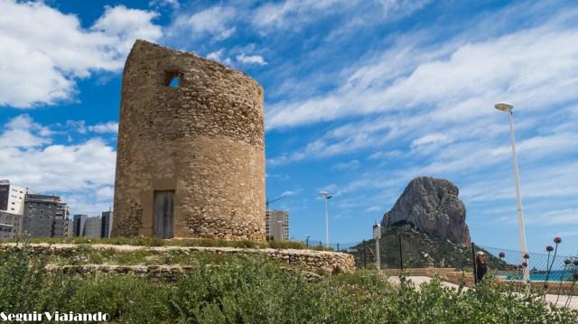 Torre Molí del Morelló Calpe - Qué ver en Calpe - Seguir Viajando