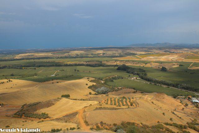 Vistas desde el Castillo del Cid Jadraque - Seguir Viajando