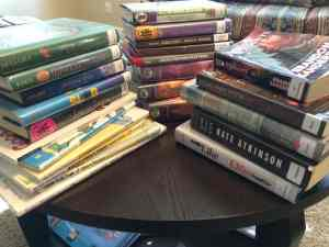 Some of the books we're excited to read this week.
