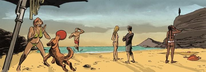 Segunda Vez, impulsores na praia de Odeceixe