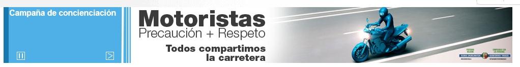 Retirada de la Imagen. Motos y Gobierno Vasco.