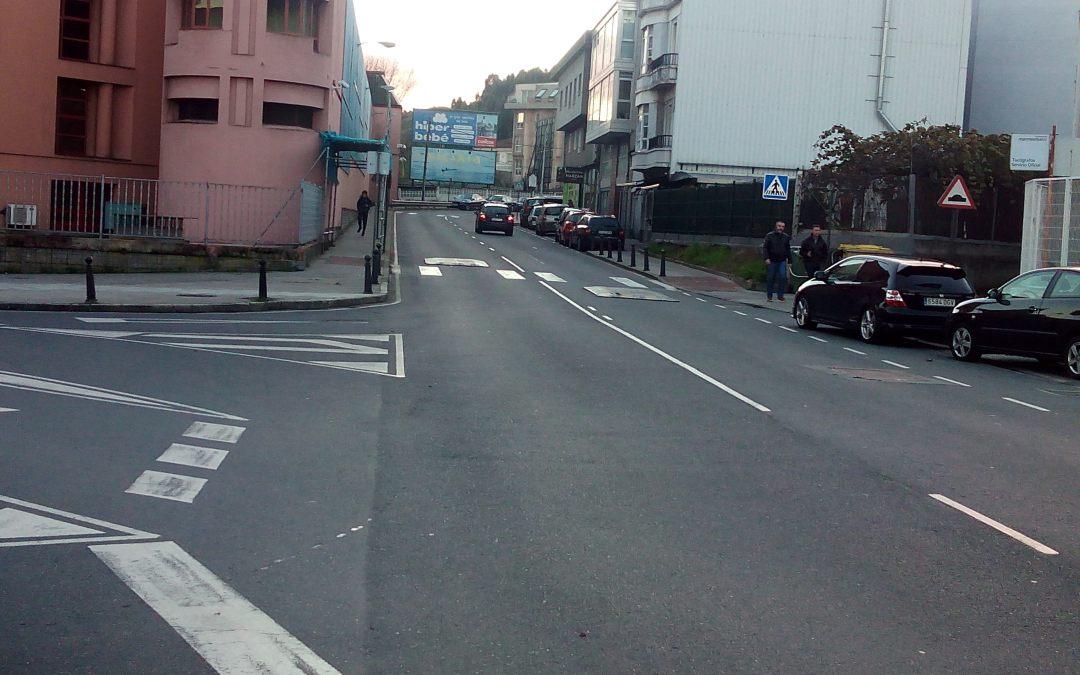 Denunciado ayuntamiento de A Coruña por reductores de velocidad ilegales