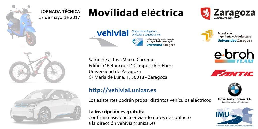 """ESTAREMOS… Jornada técnica """"Movilidad eléctrica"""" por carreteras y calles. Vehículo Eléctrico."""