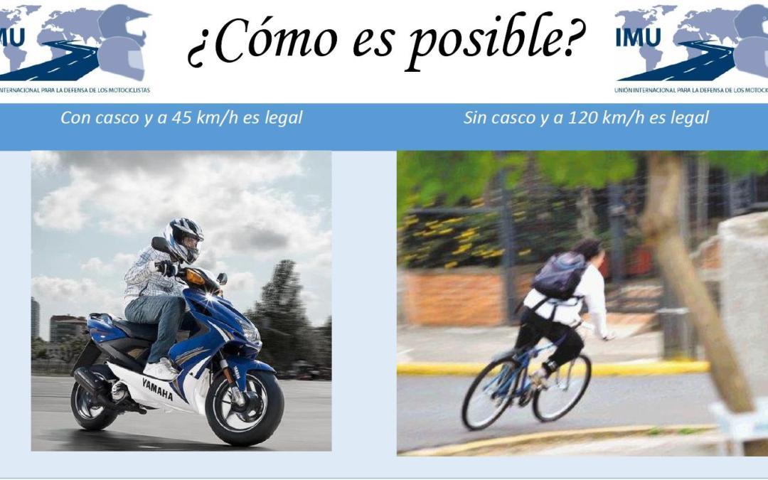 ¿Para la DGT una bicicleta es más segura que un ciclomotor?