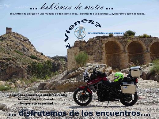 """Módulo gratuito de formación para la conducción en carretera y presentación programa """"Hablemos de motos"""""""