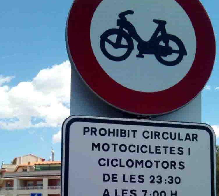 Fin de la discriminación de motoristas en La Selva del Camp (Tarragona)