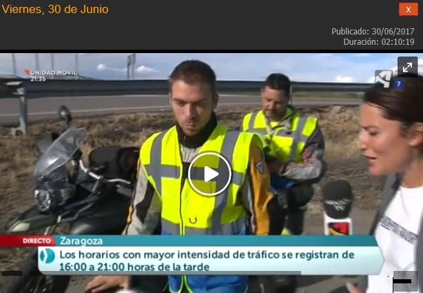 Participación TV Aragón en Abierto y 6 consejos para la vida