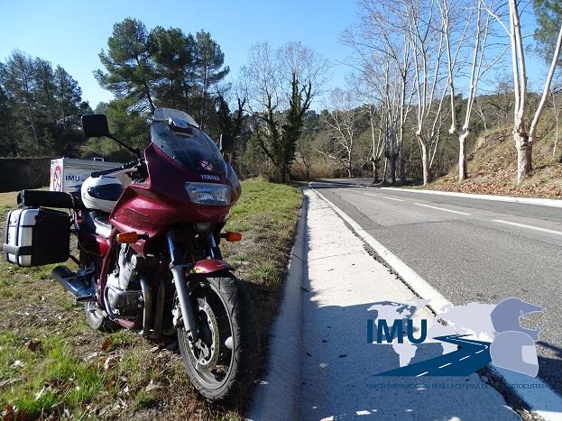 Denunciada curva peligrosa en Barcelona proximidades circuito de Castellolí
