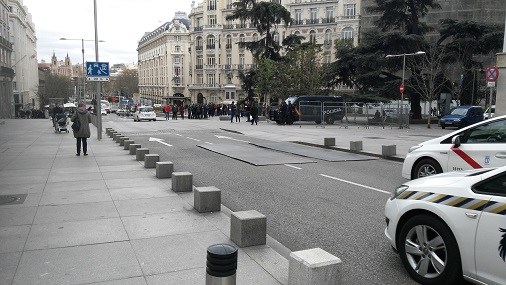 Madrid capital. 7.382 víctimas motoristas en dos años …