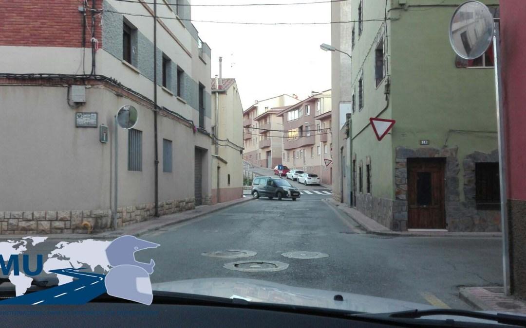 Denunciado ayuntamiento de Teruel por señalización de ceda el paso