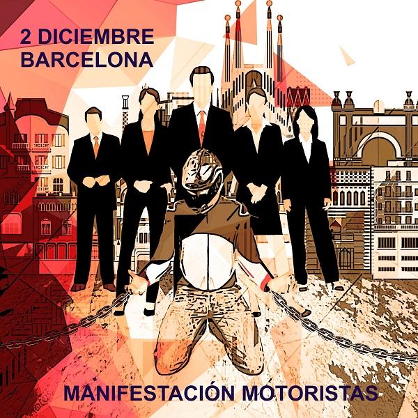 Convocatoria oficial manifestación Barcelona