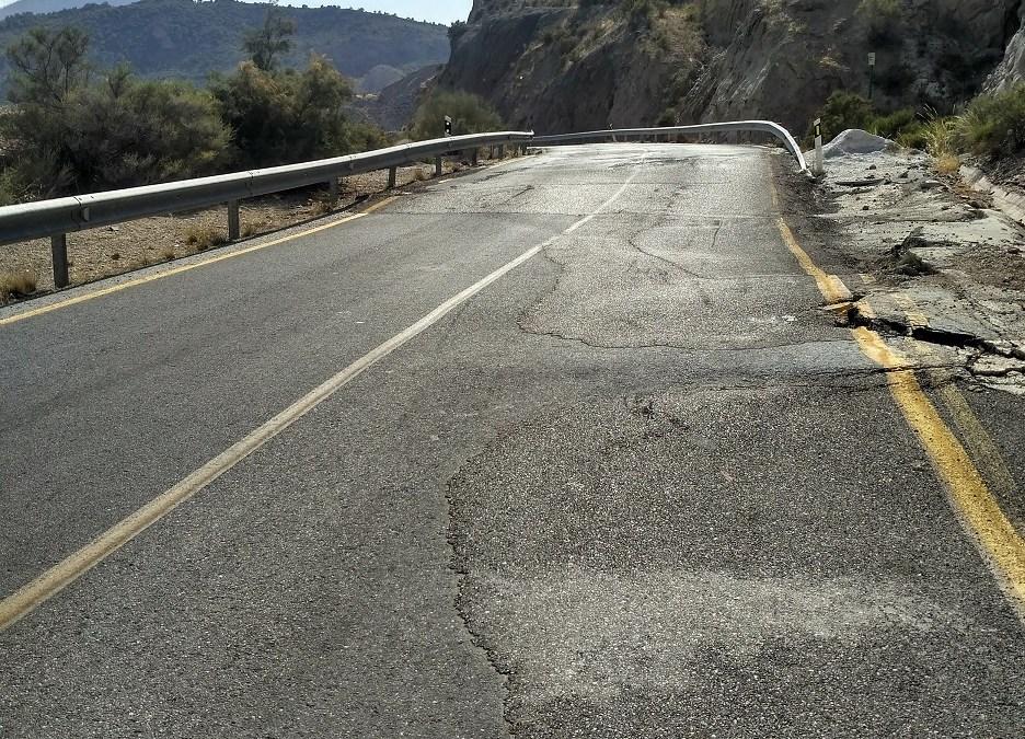 Denunciada la A-317 por 3 infracciones graves contra la seguridad vial
