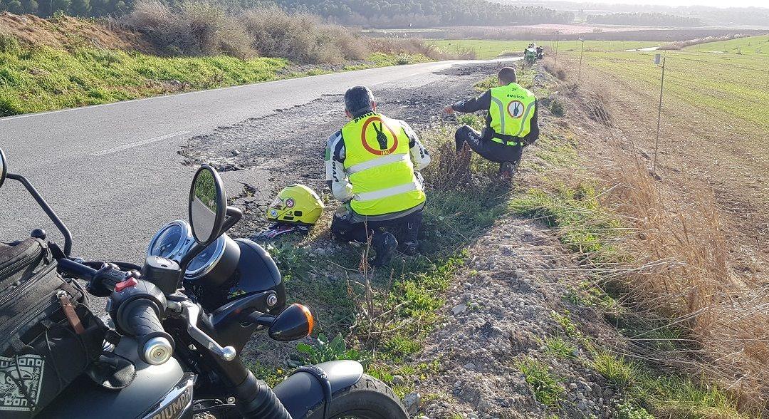 23 Víctimas de accidente de moto este fin de semana