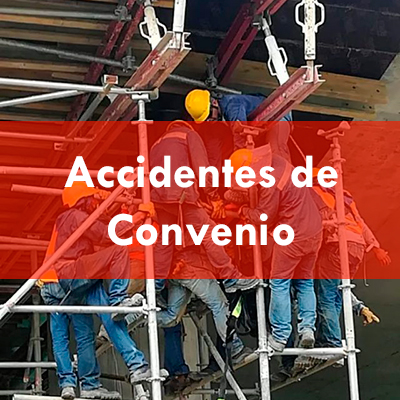 Accidentes colectivos de convenio