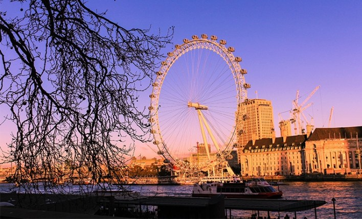 seguro viagem Londres london eye