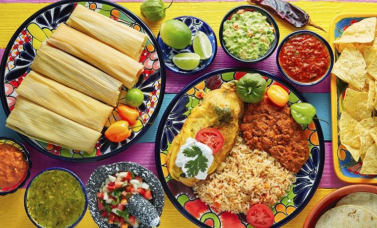 viagem México comidas