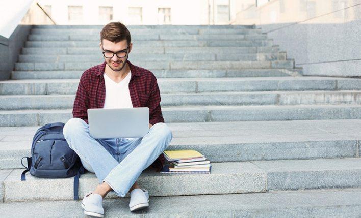 estudante intercambio
