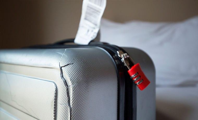 seguro viagem danos a mala