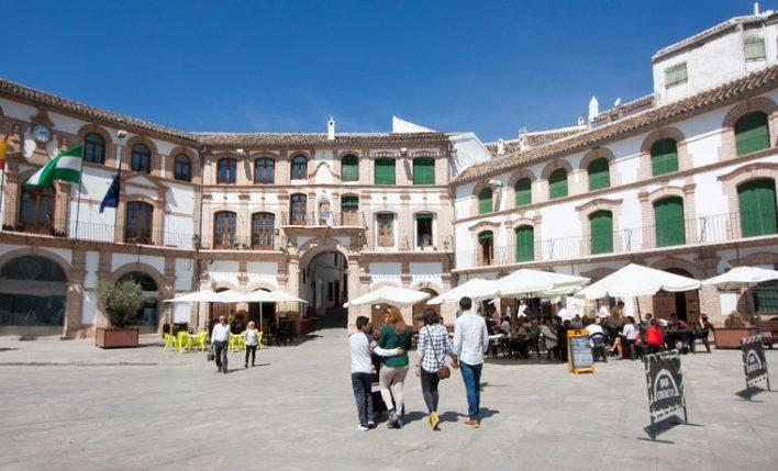 seguro viagem Espanha praça