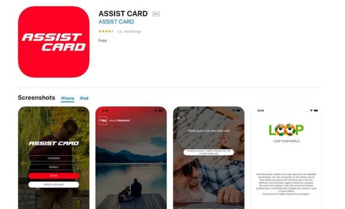 app My Assist Card