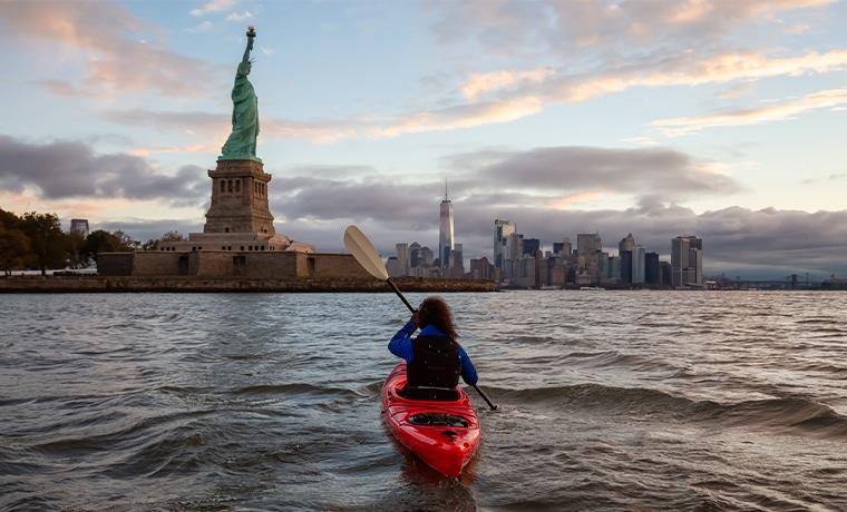 New York destino de brasileiros