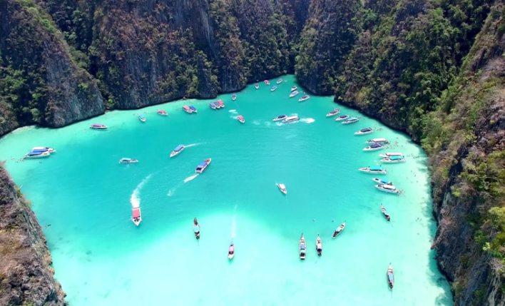 seguro viagem Tailândia barcos