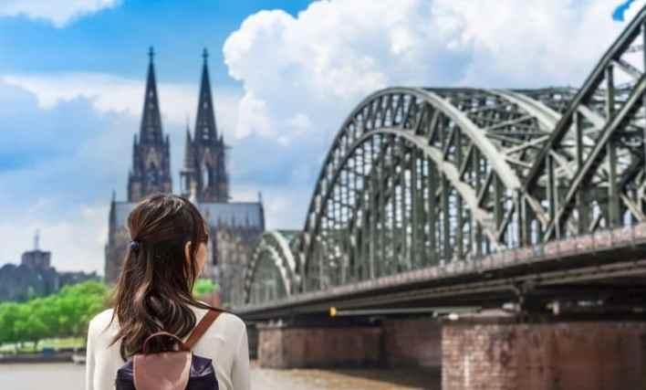 Turista Colônia Alemanha