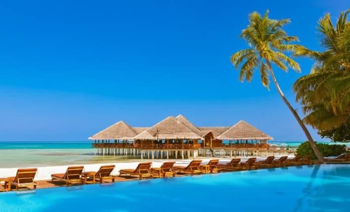 Praia seguro viagem Maldivas