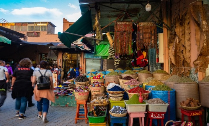 Feira seguro viagem Marrocos