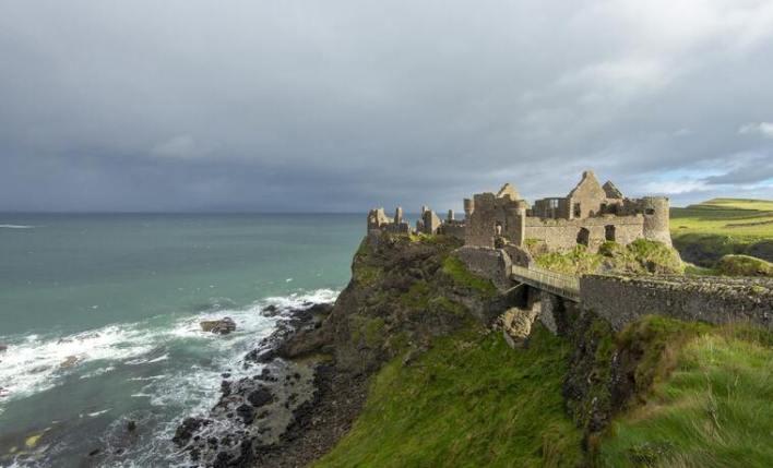 castelo medieval Irlanda