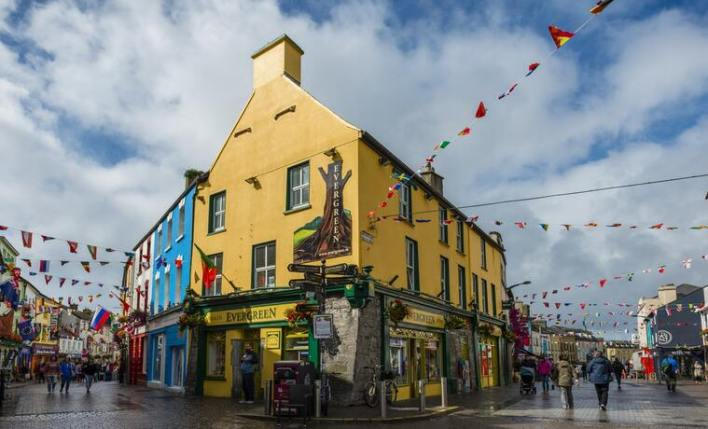 pub irlandês galway