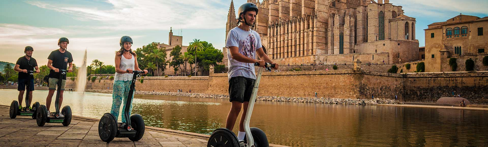 Book your segway tour in palma city