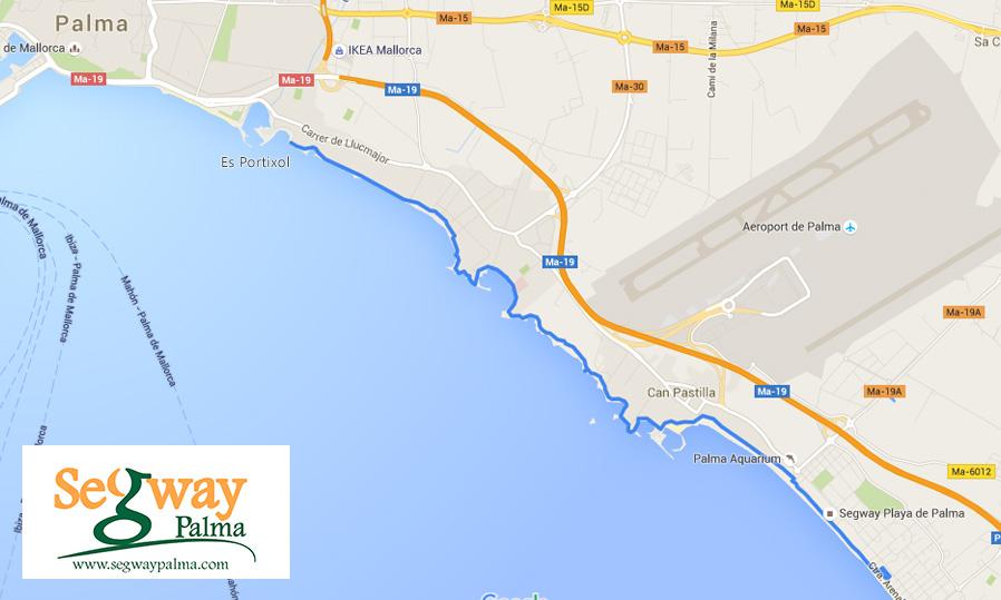 Segway Tour Playa de Palma - Es Portixol
