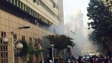 Photo of 15سيارة اسعاف تشارك فى اخلاء مصابى حريق مستشفى الحسين الجامعى