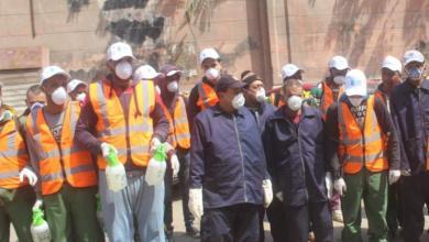 Photo of اللجنة النقابية توجه الشكر لعمال نظافة الجيزة لجهودهم فى مواجهة كورونا