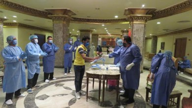 Photo of خروج ١٣ حالة من مستشفى عزل الطود بالأقصر بعد التعافي من فيروس كورونا