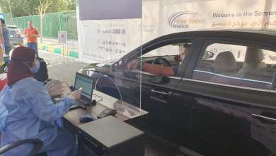 Photo of لأول مرة في مصر: مسحات تشخيص ڤيروس كورونا من داخل السيارة