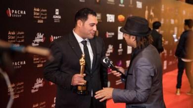 Photo of نجم العرب يمنح حسام ممدوح جائزة أفضل جراح تجميل أنف عربي لعام 2020