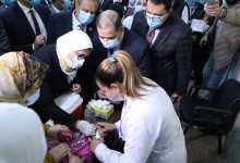 Photo of بالصور..وزيرة الصحة تطلق الحملة القومية ضد شلل الاطفال وتستهدف  16.7 مليون طفل
