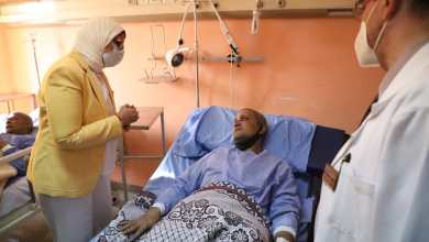 Photo of وزيرة الصحة تطمئن على مصابي حادث طوخ بمستشفى بنها للتأمين الصحي