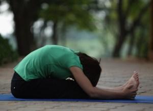 Paschimottanasana Yoga for Pregnant Women