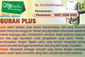 KAPSUL HERBAL GURAH PLUS