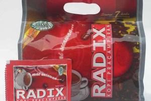 Herbal Kopi Radix (tongkat ali, teja lawang, tebu gajah, mata pelanduk, halban, larak Hutan)