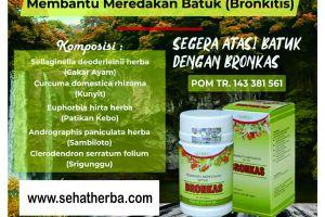 Bronkas Obat Herbal Bronkitis Akut
