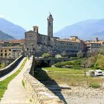 Anblick in Bobbio auf den Spuren des Hl. Columban