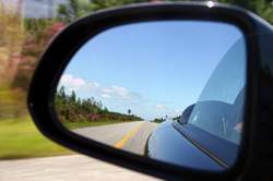 rear-view mirror original