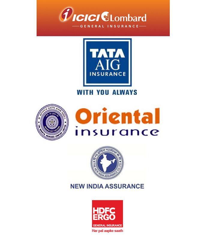 Major General Insurance Companies In India