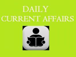 current affairs MCQ